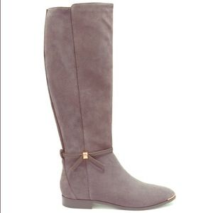 Lykla Ted Baker suede knee high boots size 38